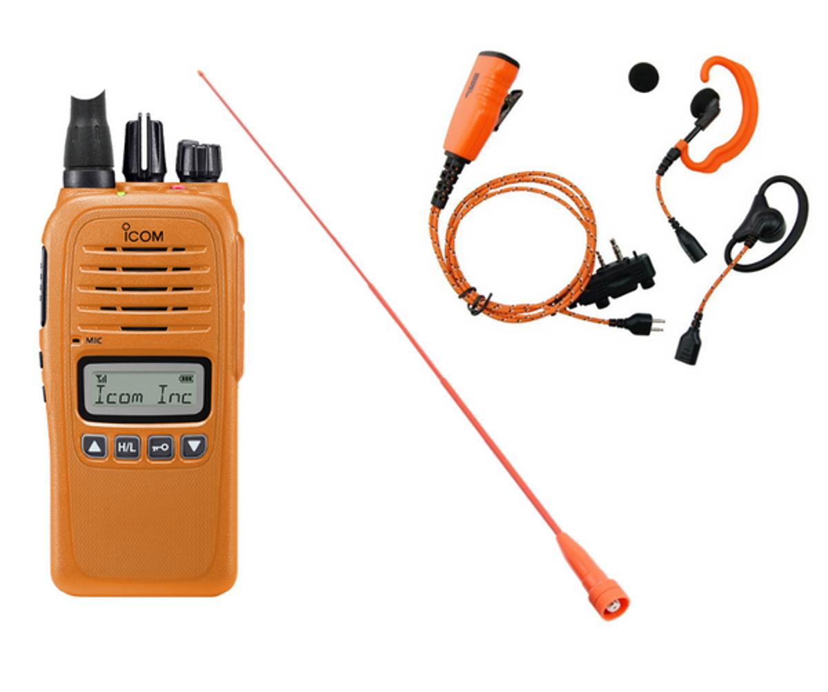 Icom Prohunt Compact Jaktpakke Orange
